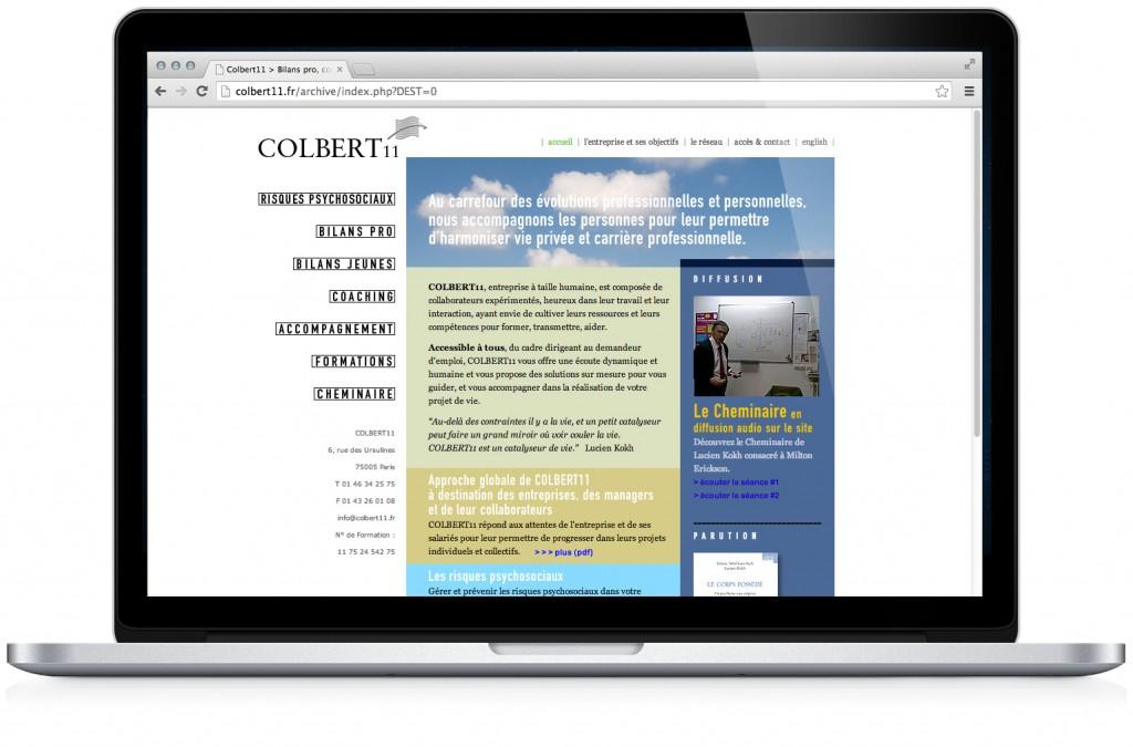 Site internet de Colbert 11
